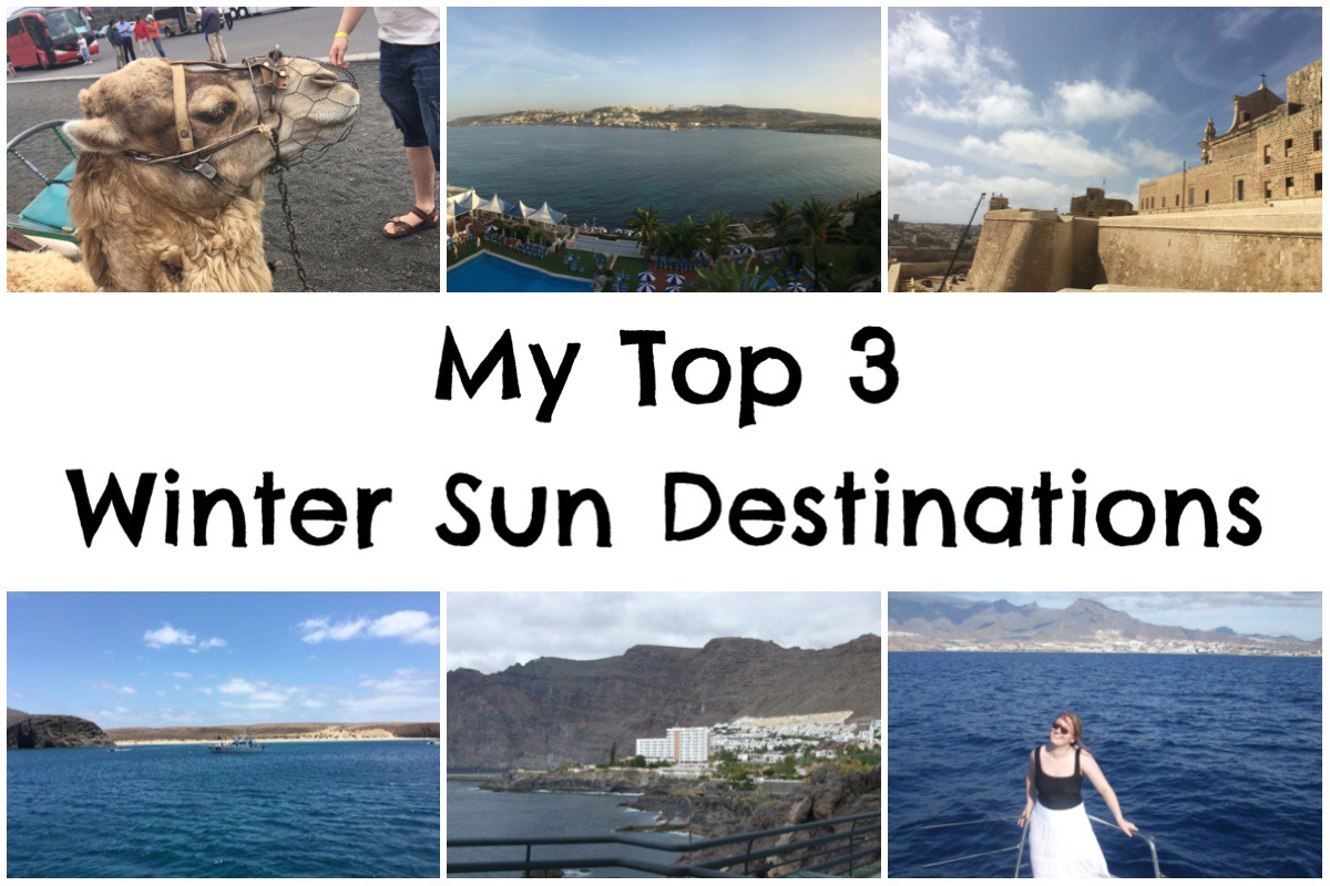 Top 3 Winter Sun Destinations