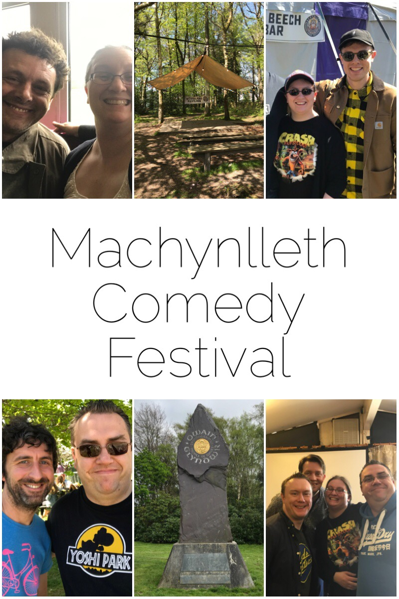 All about Machynlleth Comedy Festival 2018 - see comedians at discount prices in a beautiful Welsh town. Cannot think of anywhere better. AND as it's a small town, you're bound to trip into some of them. We met Josh Widdicombe, Ed Gamble, Mark Watson, Steve McNeil and Rob Sedgebeer. Also we met Michael Sheen.