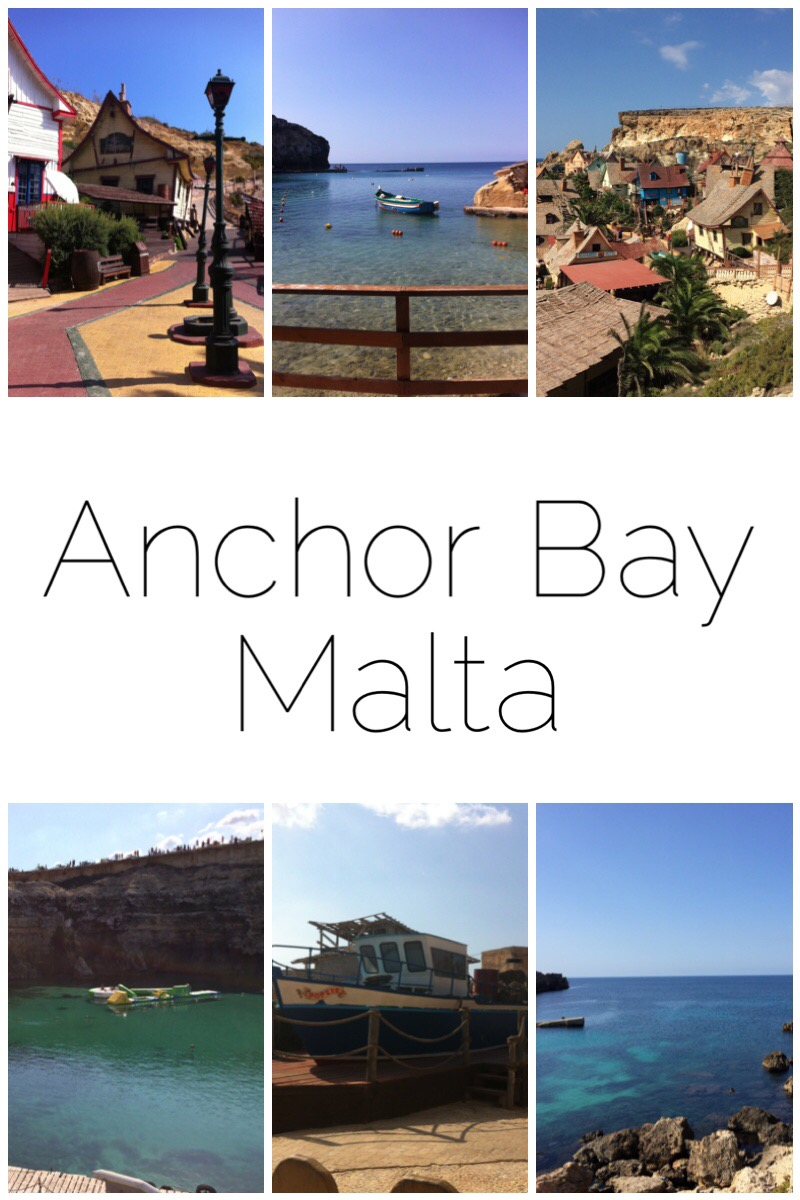Anchor Bay in Malta is a lovely little place. The village was purpose built as the set of the Popeye film featuring the late great Robin Williams. The set is now operated as a tourist attraction and is wonderfully nostalgic. However, Anchor Bay itself provides opportunity for some seaside fun with the most amazing place to swim. When we were there they also had giant inflatables in the bay to play on so DON'T FORGET YOUR SWIMMING COSTUMES!