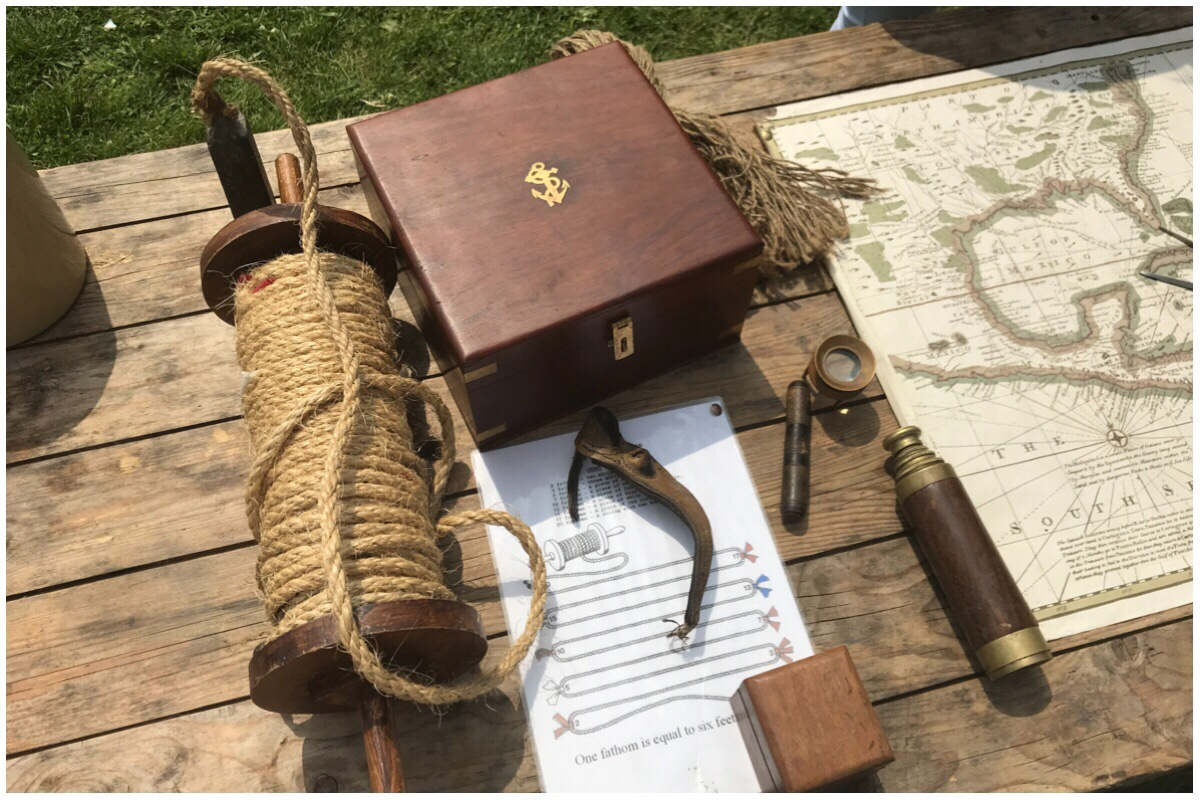 Old maritime artefacts