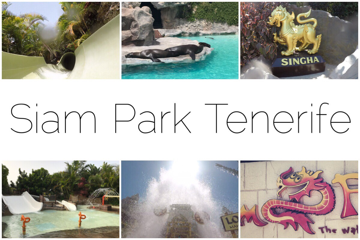 Six photos of Siam Park
