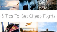#AD – 6 Tips To Get Cheap Flights