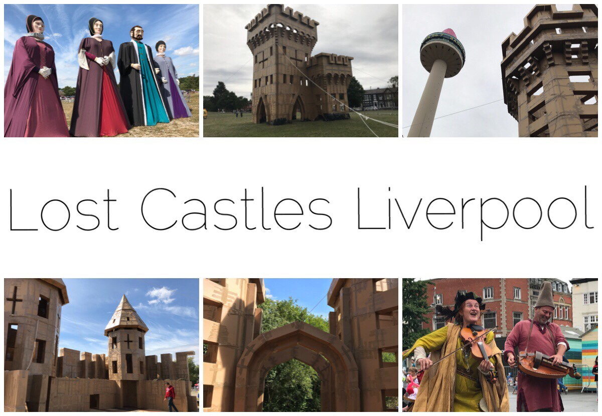 Six images of the Lost Castles in and around Liverpool