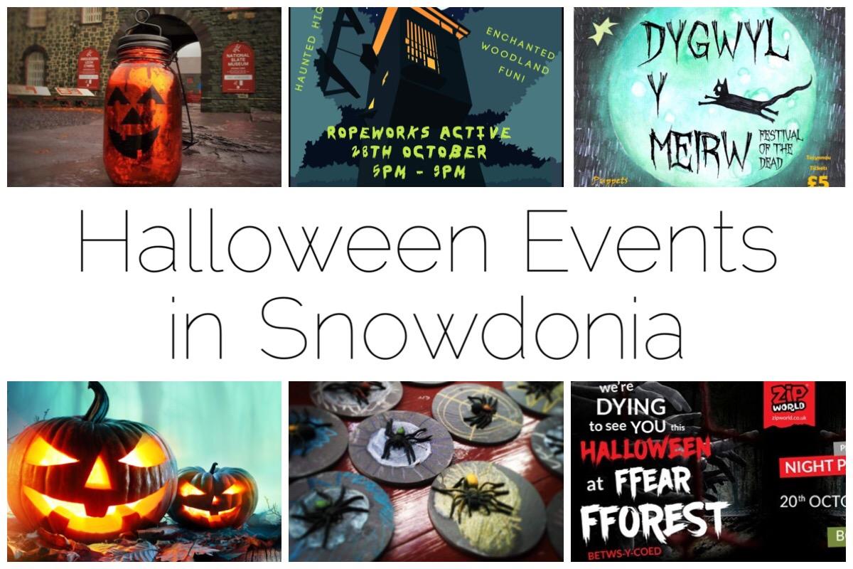 Six images of Halloween events around Snowdonia