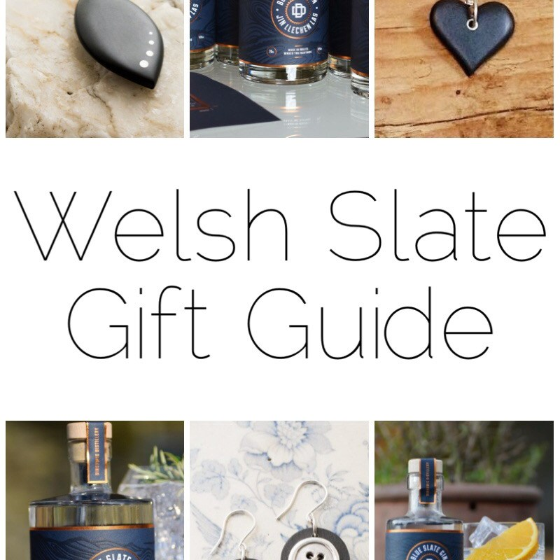 Welsh Slate Gift Guide - It's coming up to Christmas and here are just some of my ideas for Welsh Slate gifts.