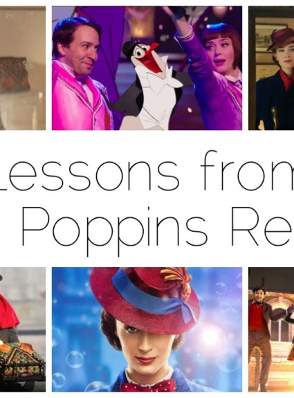 Lessons from Mary Poppins Returns