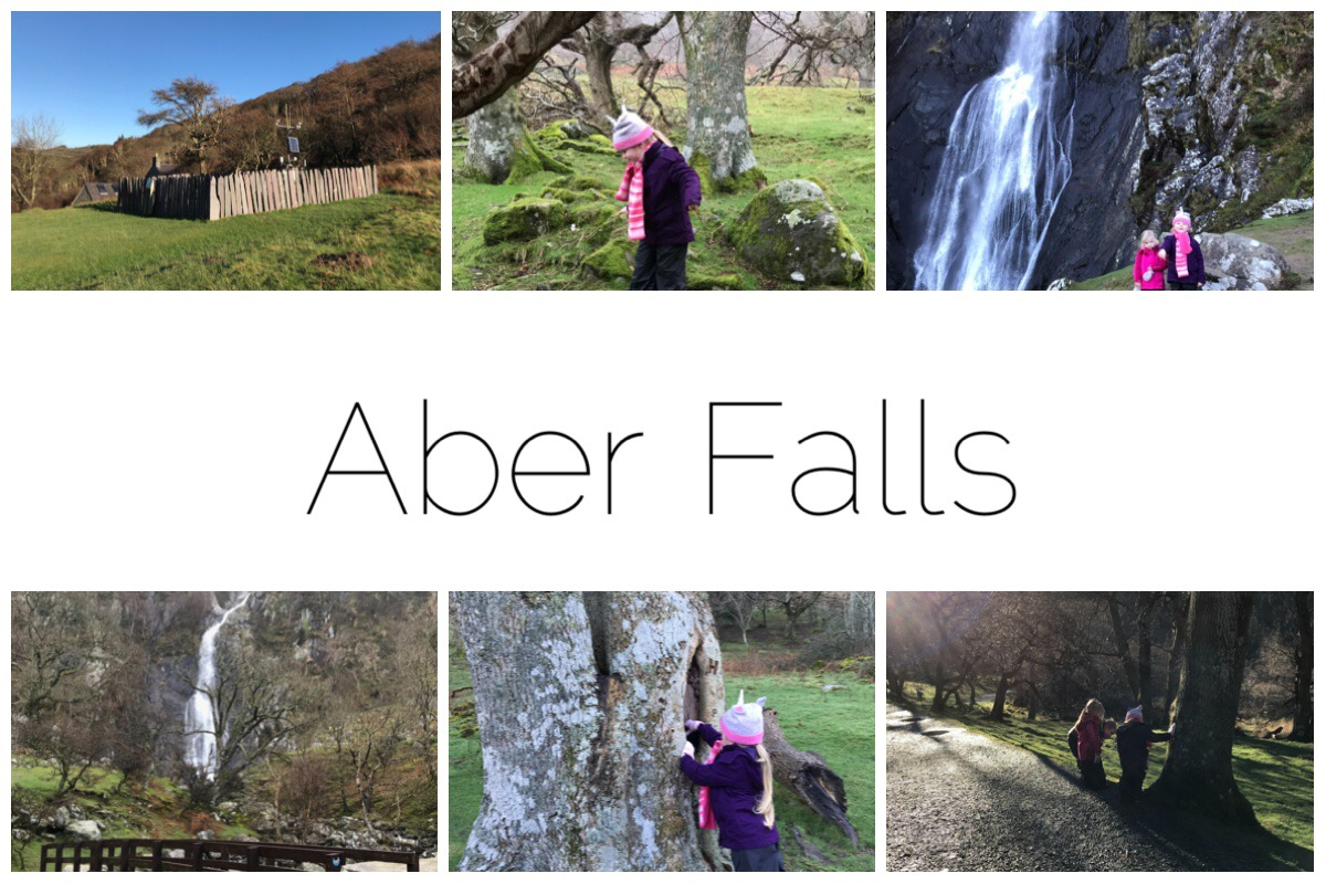 Aber Falls - some images from our family friendly walk to Aber Falls