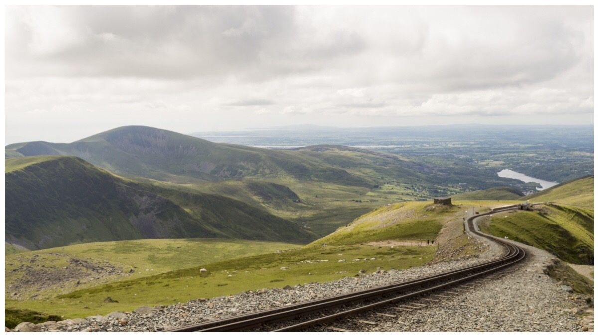 The view from Snowdon