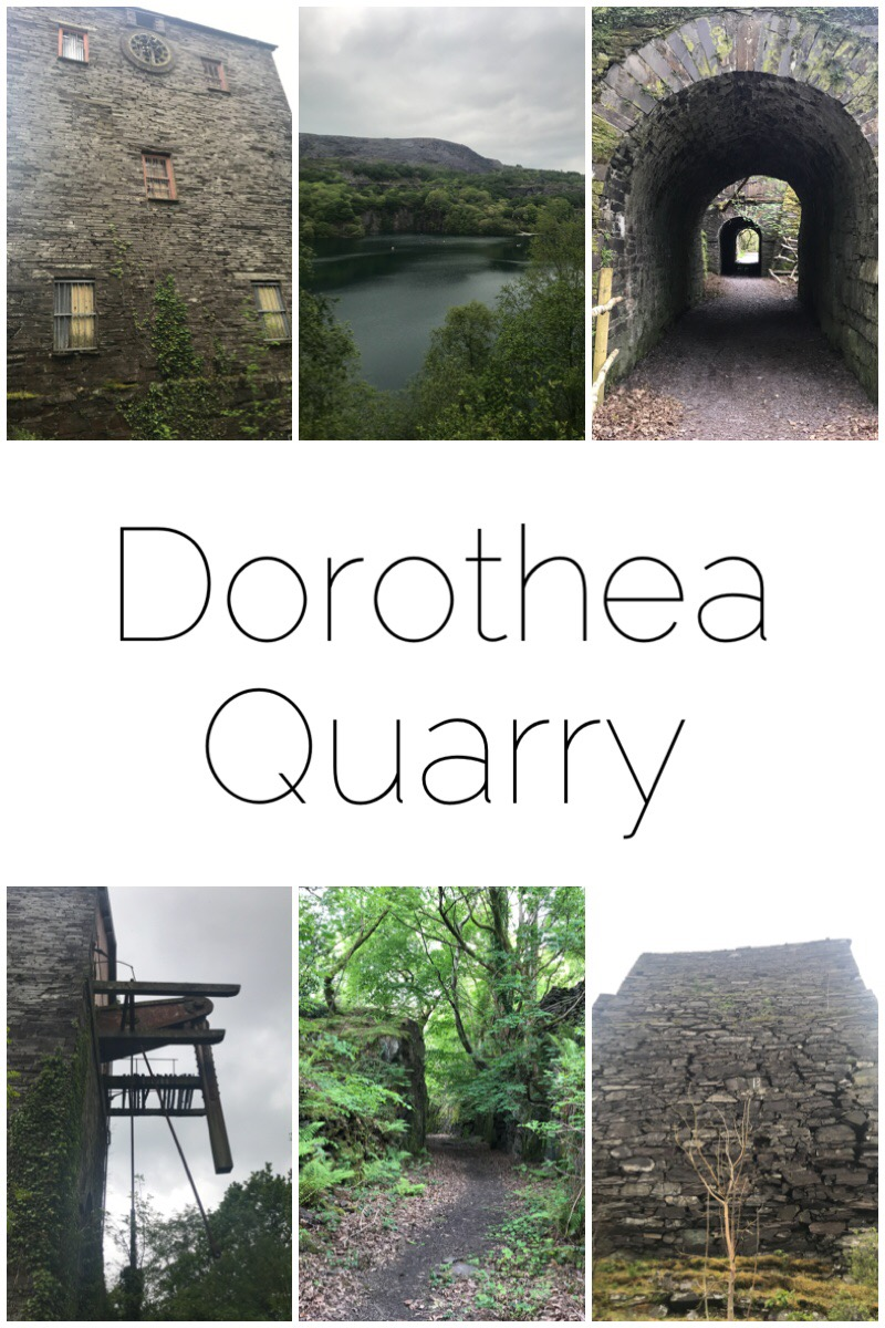 Dorothea Quarry is an abandoned slate mine in the Nantlle Valley, Snowdonia, North Wales. It's an amazing place for a walk with history at every corner.