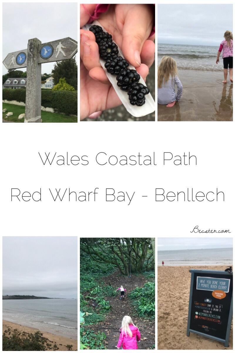Wales Coastal Path - Red Wharf Bay to Benllech
