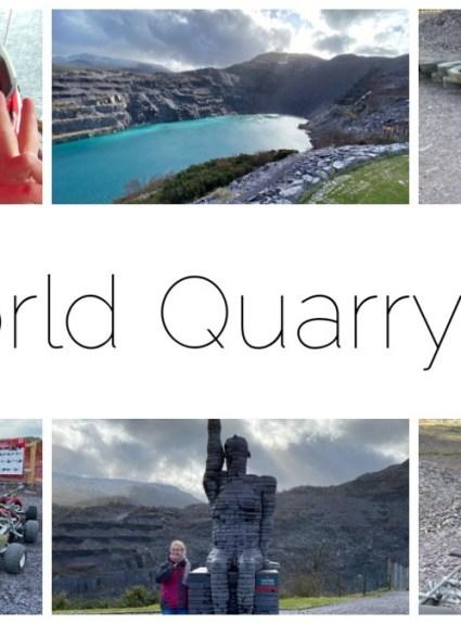 #Ad – Zipworld Quarry Karts