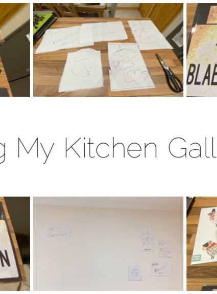 #Ad – Creating My Kitchen Gallery Wall