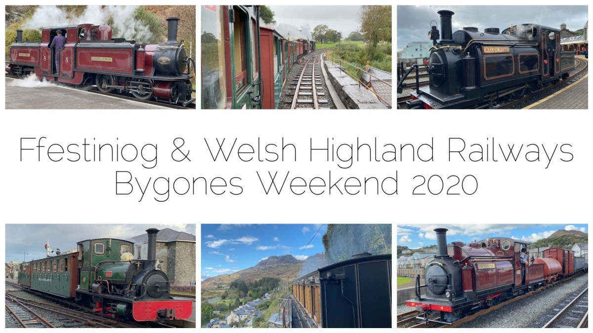 enwythnos Bygones FF&WHR Bygones Weekend - six photos of different locomotives