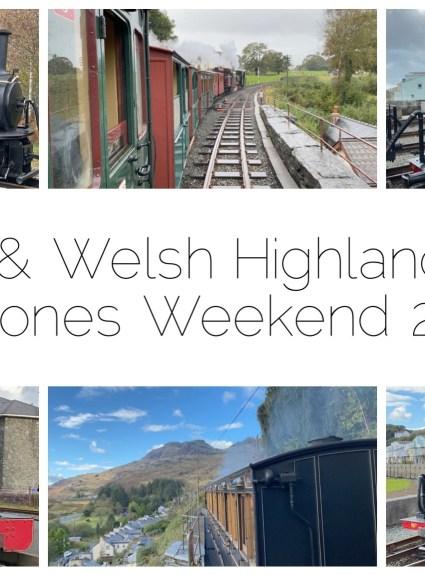 Ffestiniog & Welsh Highland Railways Bygones Weekend