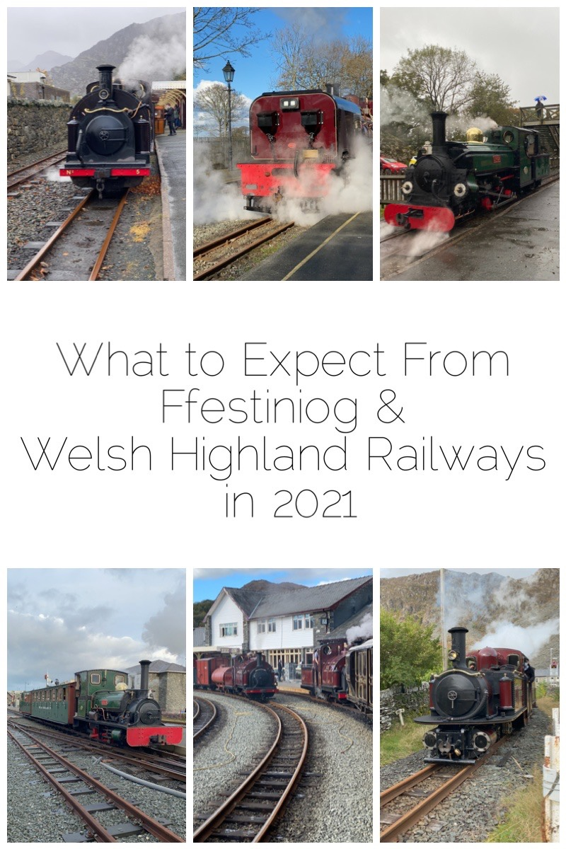 What to Expect From Ffestiniog and Welsh Highland Railways in 2021 - Due to the pandemic, 2020 was not the year they had intended.  After a few months of being closed, they reopened with post Covid-19 services mid July 2020. Further lockdowns happened during Winter seeing the Santa trains being called off. Well it's now a new year full of hope... So what can you expect from the Ffestiniog & Welsh Highland Railways in 2021? Here's the basics that you need to know