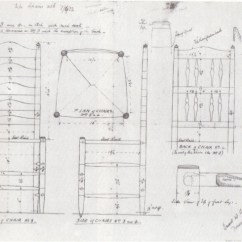 Library Chair Ladder Plans Small Comfortable Lupton Hall Bedales Arts For The Ladderback Chairs Made