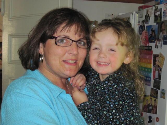 Olivia & Aunt Shannon