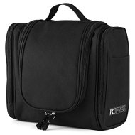 51QPOcesXSL - KIPOZI Hanging Toiletry Bag for Men & Women Rugged & Water Resistant with Mesh Pockets & Sturdy Hook Travel Shower Bag
