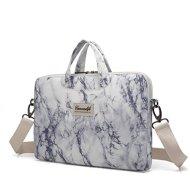 41PE3FIN OL - Canvaslife White Rose Laptop sleeve bag case