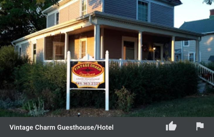 vintage charm guesthouse bb waterville ks - Vintage Charm Guesthouse/B&B - Waterville, KS