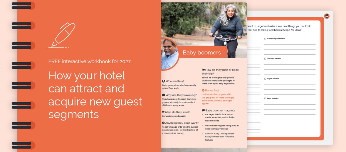 free interactive workbook for 2021 how your hotel can attract and acquire new guest segments - FREE interactive workbook for 2021: How your hotel can attract and acquire new guest segments
