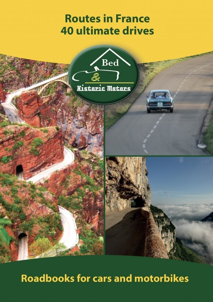 Routes in France 40 ultimate drives - english issue