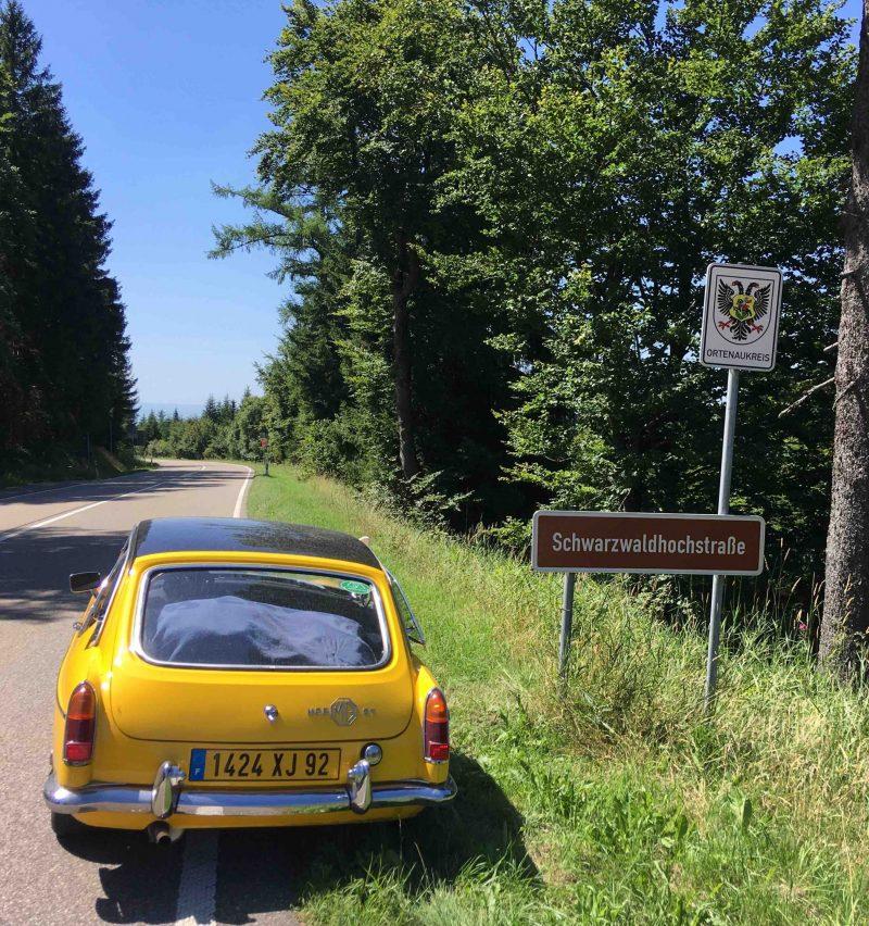 Route des cretes de la forêt noire-B500