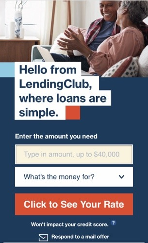 Loan application from Lending Club for Dead Bug Walkin LLC.