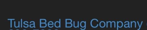 Tulsa Bed Bug Company Logo