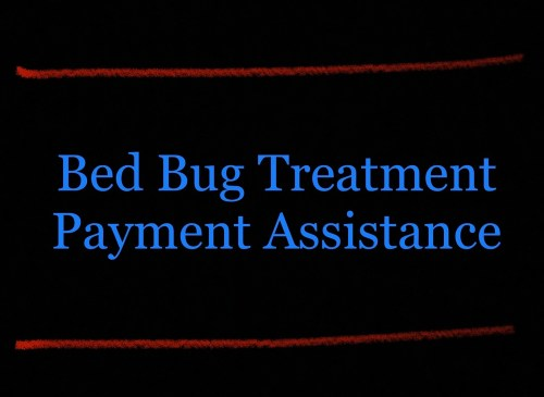 Bed bug treatment payment assistance Oklahoma.​