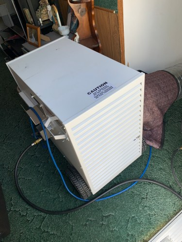 Heat bed bug treatment pictures, Pictures of our bed bug heat treatment service, Dead Bug Walkin LLC