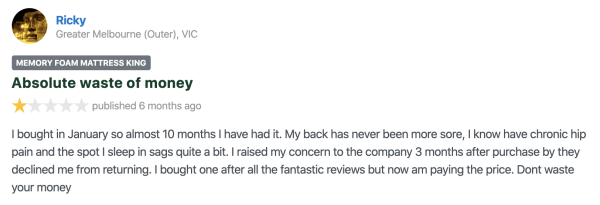 Can we trust customer reviews