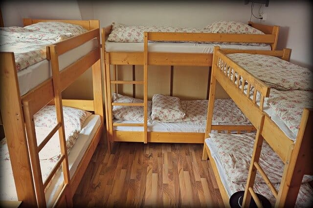 Bunk beds frames