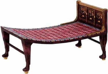 Why Are Beds Raised off the Floor - 18th Century Bed egyptian statues