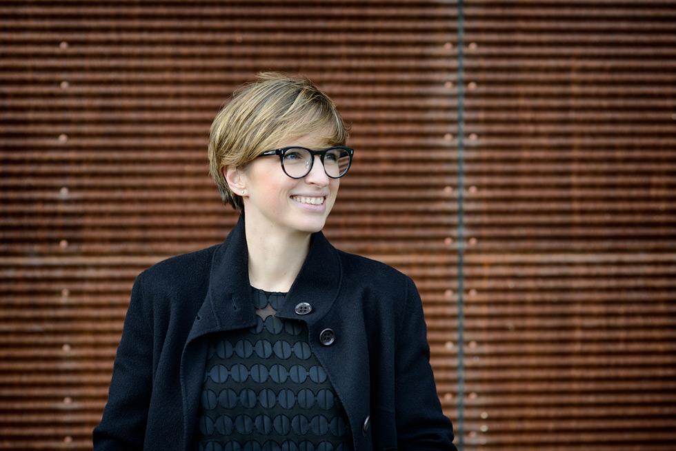 Portrait Bettina Wassermann, Fotografie: Anna Logue