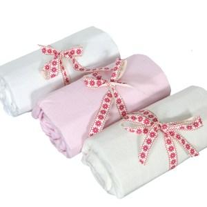 Hoeslaken Voor Babyledikant Roze