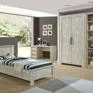 Complete slaapkamer IVAN II strandeik