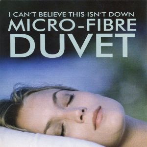 I Can't Believe This Isn't Down Micro Gel Duvet