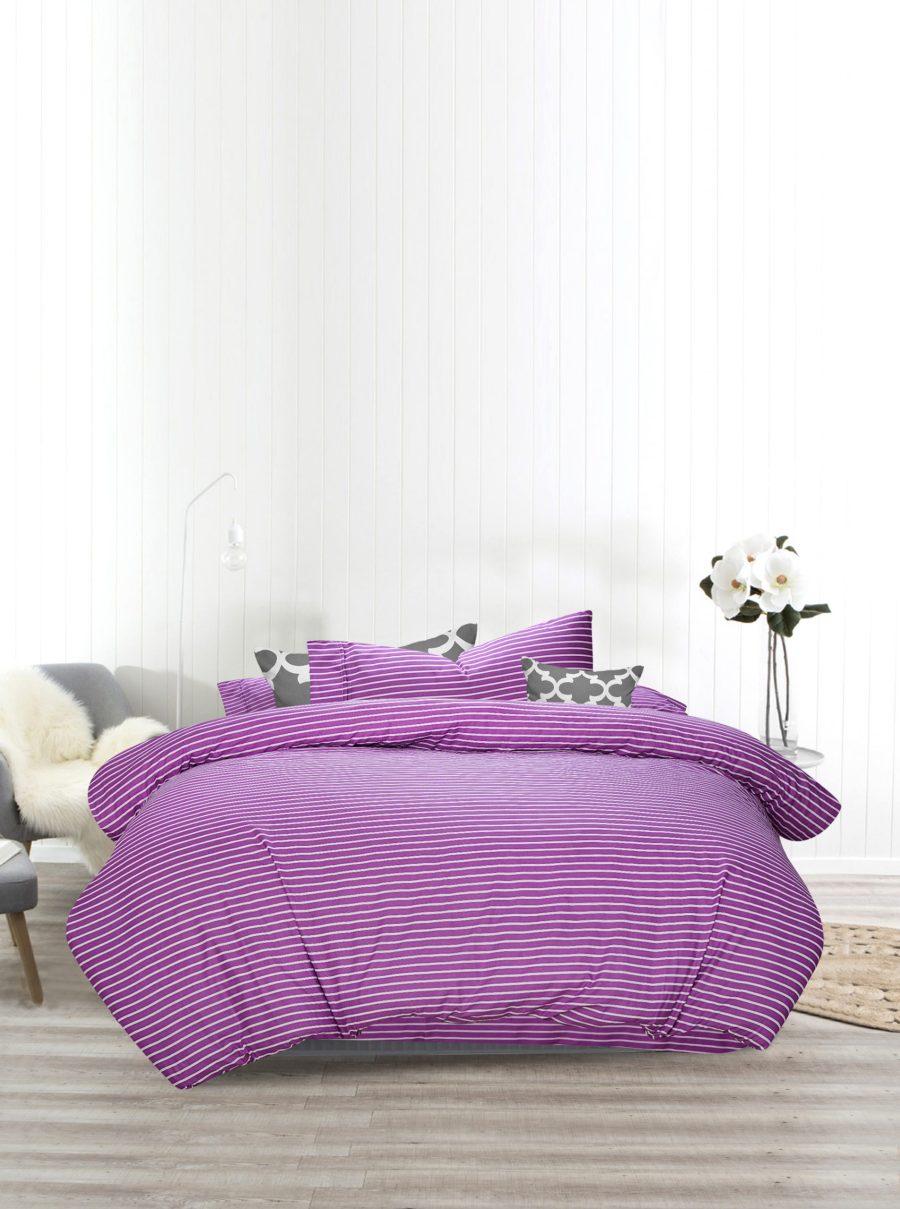 3 Pcs Quilt Cover - Laven
