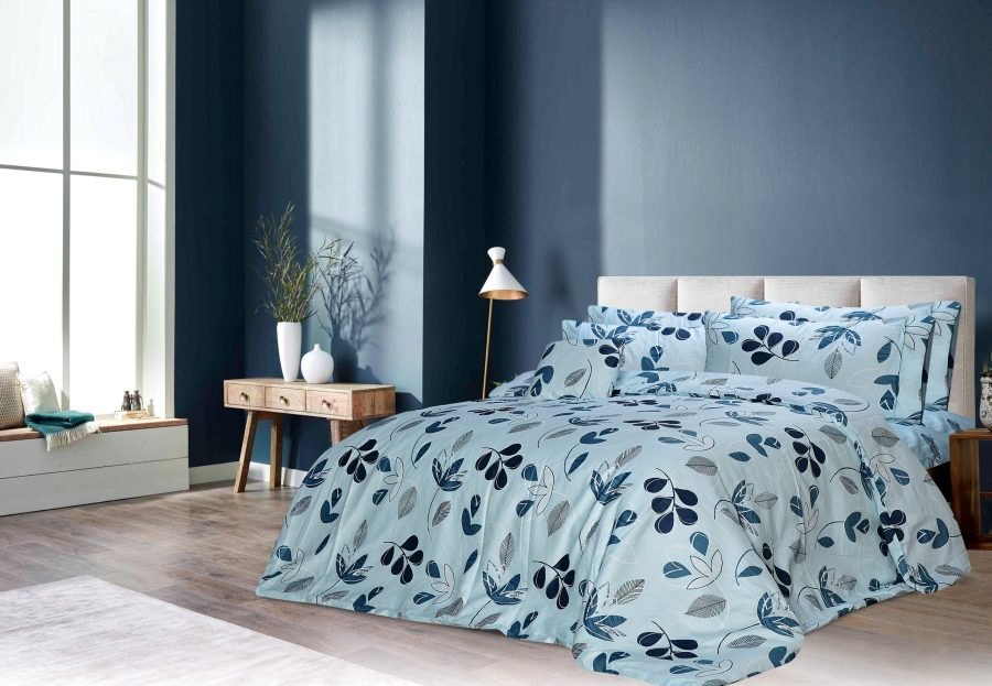 6 Pcs Printed Sateen Quilt Cover - Lorna