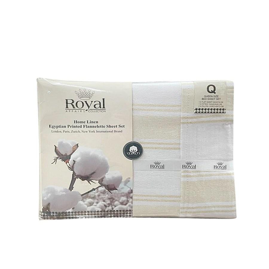 100% Pure Cotton Cozy Winter Flannelette Sheet Sets Design- Flatte ~FREE POSTAGE~