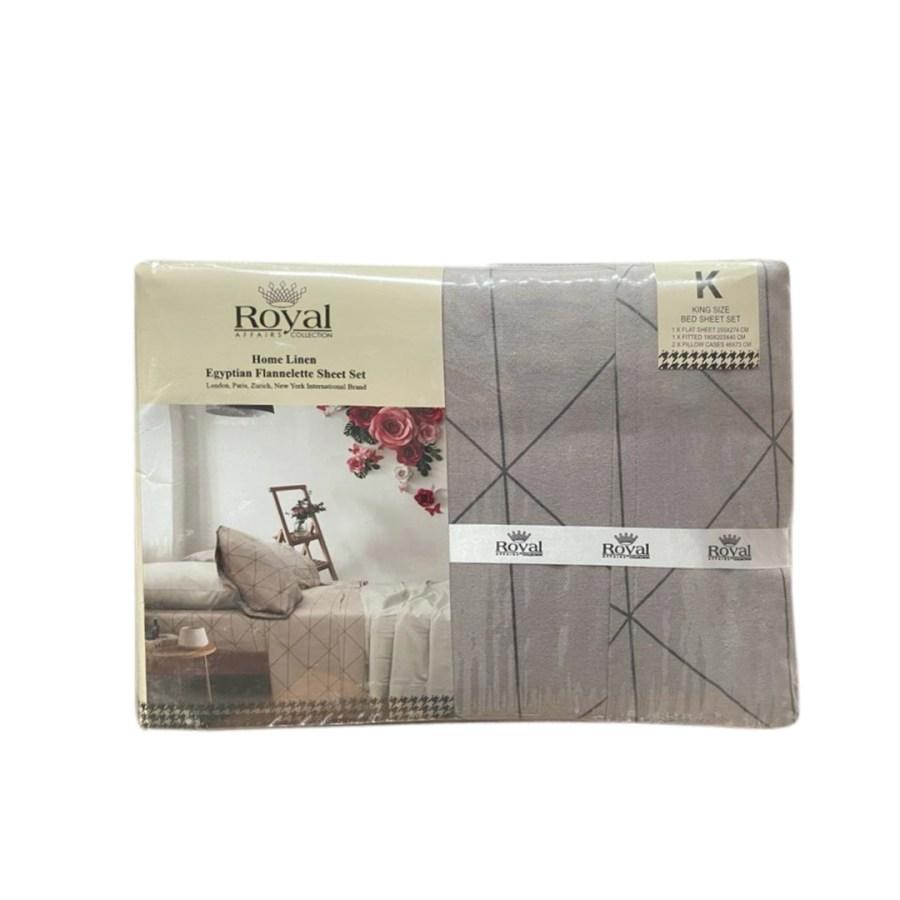 100% Pure Cotton Cozy Winter Flannelette Sheet Sets Design-Xiros~FREE POSTAGE~