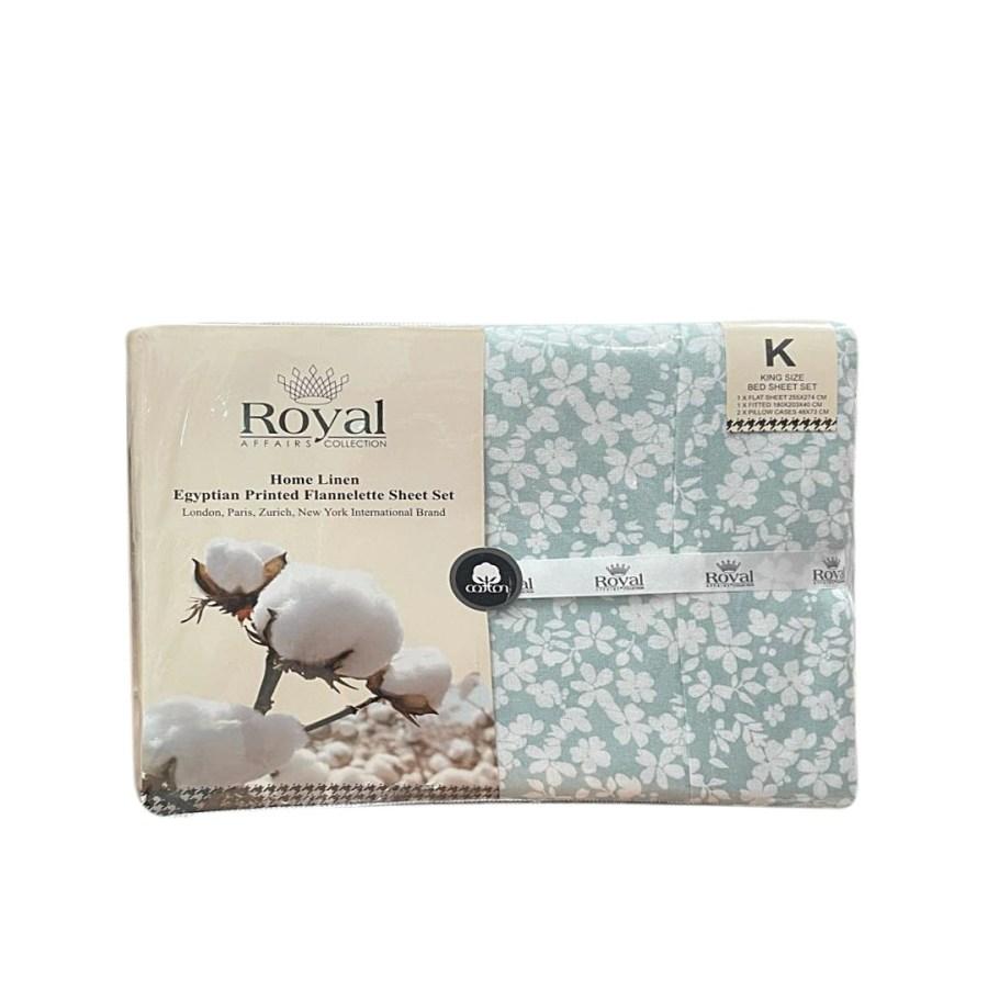 100% Pure Cotton Cozy Winter Flannelette Sheet Sets Design-Donisa~FREE POSTAGE~