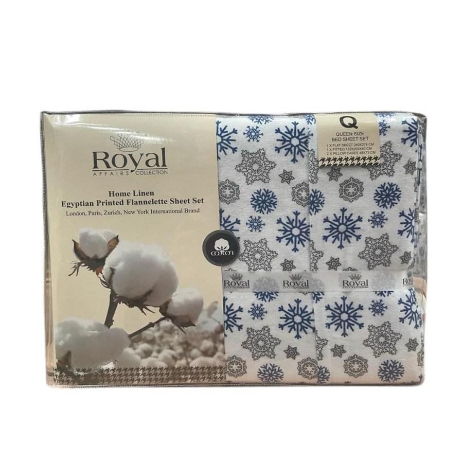 100% Pure Cotton Cozy Winter Flannelette Sheet Sets Design-Gralden~FREE POSTAGE~