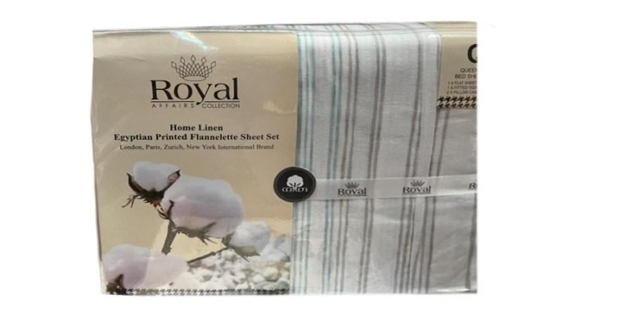 100% Pure Cotton Cozy Winter Flannelette Sheet Sets Design- Operata~FREE POSTAGE~