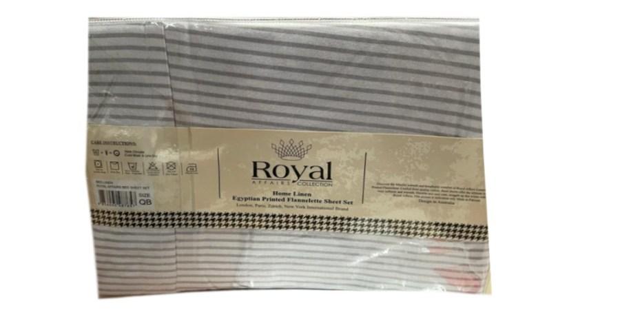 100% Pure Cotton Cozy Winter Flannelette Sheet Sets Design- Yelid~FREE POSTAGE~