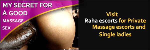 raha escorts in Kenya.