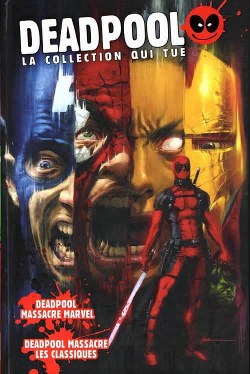 Deadpool La Collection Qui Tue : deadpool, collection, Deadpool, Collection, (Hachette), Informations,, Cotes