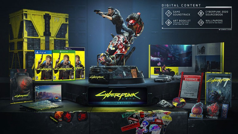 Cyberpunk 2077 Collector's Edition | Be Devils Clan