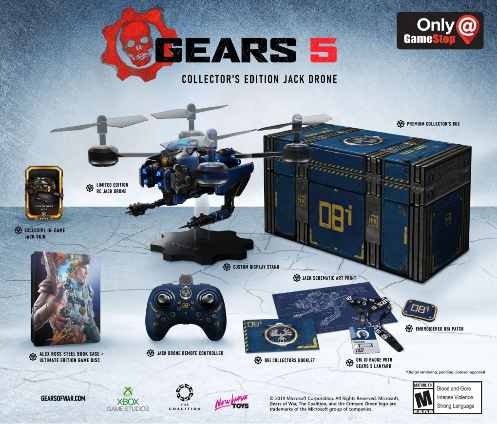 Gears of War 5 Collector's Edition
